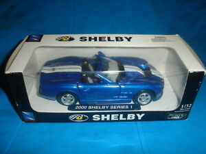 2000 SHELBY MODEL CAR SERIES-SPECIAL EDITION CONVERTIBLE -$29.99