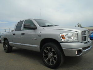 2008 Dodge Power Ram 1500-BIG HORN-COSTUM-DVD-HDTV-5.7L V8 HEM