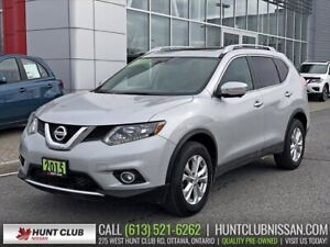 2015 Nissan Rogue SV Tech AWD | Navi, Pano Moonroof, Htd Seats