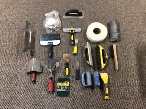 Drywall and Painting tools