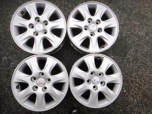 "4 used 16"" alloy rims Toyota 5x114.3"