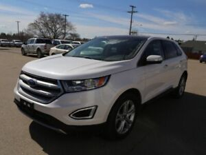 2018 Ford Edge Titanium *ONE OWNER* NO ACCIDENTS* Pano Roof