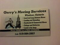 We do local & long distance moving 519 564-2957