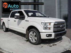 2015 Ford F-150 Platinum, 3.5L Ecoboost, 6.5' Box, Tech Package,