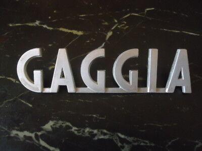 GAGGIA-LOGO  Espresso Machine!