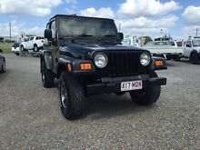 2005 Jeep Wrangler TJ MY2005 Sport Black 6 Speed Manual Softtop Rocklea Brisbane South West Preview