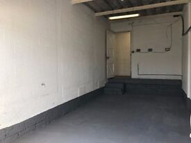 264 sq ft units to rent workshop storage business landscapers delivery space