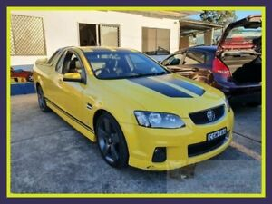 2012 Holden Ute VE II SV6 Thunder Yellow Sports Automatic Utility