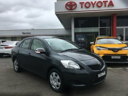 2012 Toyota Yaris NCP93R 10 Upgrade YRS Storm Grey 4 Speed Automatic Sedan