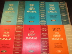 New Ford Car And Truck Repair Books Mustang