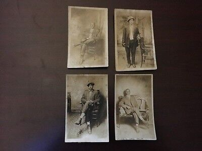 Vintage African American Photographs - Lot of 4 Well Dressed Gentlemen