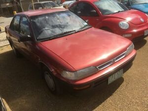 1991 Holden Nova LF SLX 4 Speed Automatic Sedan Hoppers Crossing Wyndham Area Preview
