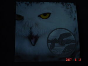 1-26 - 2014 - SNOWY OWL - $50 FOR $50 COIN SERIES.