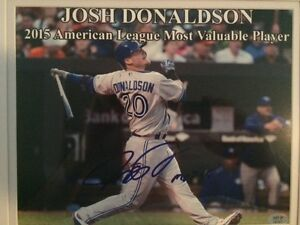 Signed Peyton Manning and Josh Donaldson Pictures