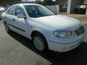 2004 Nissan Pulsar N16 MY04 ST-L White 4 Speed Automatic Sedan Woodville Charles Sturt Area Preview