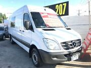 2008 Mercedes-Benz Sprinter NCV3 MY08 418CDI High Roof LWB White 5 Speed Automatic Van Maidstone Maribyrnong Area Preview