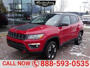 2018 Jeep Compass 4X4 TRAILHAWK              LEATHER INTERIOR  T
