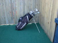 Men's Right Hand 15 pcs Golf sets with Cleveland bag