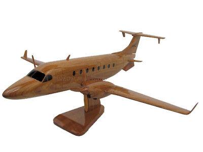 Beech Beechcraft King Air 1900D A Wood Wooden Airplane Airline Pilot Model - Wooden Airplanes