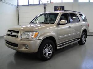 2006 TOYOTA SEQUOIA SR5-EVERY OPTION,4X4 V8,REAR DVD,LEATHER