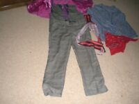 BOYS TROUSERS AND MATCHING WAISTCOAT WITH DANCING ACCESSORIES