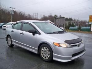 LOW MILEAGE! CIVIC ! NEW MVI!  TOYO WINTER TIRES INSTALLED!