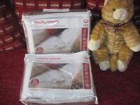 Two Brand New WASHABLE Single Electric Blankets - - £15 - -