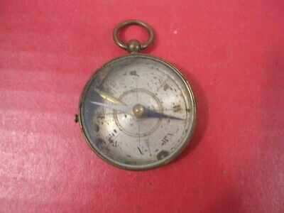 WWI Era French Officer's Pocket Compass - Marked: Made in France - Nice