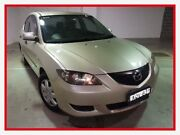 2004 Mazda 3 BK10F1 Neo Gold Sports Automatic Sedan Campbelltown Campbelltown Area Preview