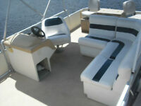 NEED YOUR PONTOON BOAT INTERIORS REDONE