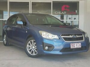 2014 Subaru Impreza G4 MY14 2.0i Lineartronic AWD Blue 6 Speed Constant Variable Hatchback