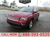 BRAND NEW 2015 Jeep Compass Limited- WAS $37,530 NOW $32,098