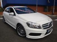 2015 MERC A180 7G-DCT 2015MY AMG SPORT AUTO /£20 ROAD TAX/LEATHER /SNAV//