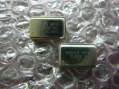 Saronix Oscillator 20mhz Nct050c-12.0000 Dip-14 New Qty.2
