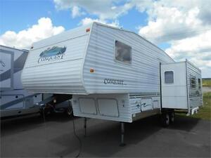 Conquest 26' 5th Wheel double Slide  Only $8900 AS IS!