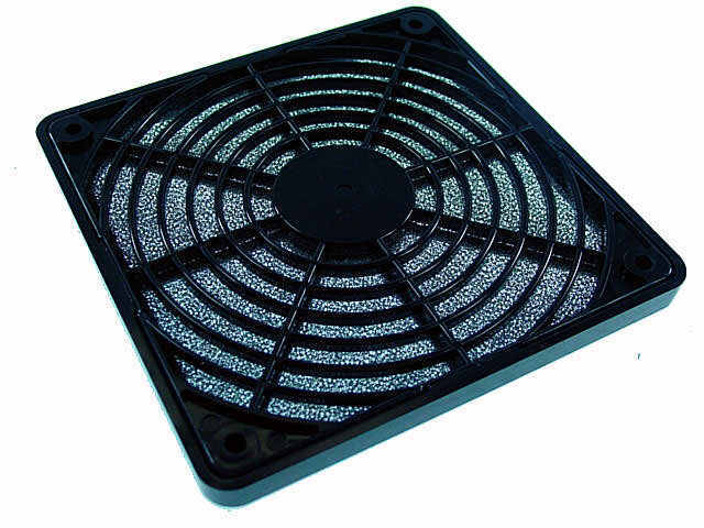 Evercool 92mm Fan Grills & Filters Plastic Finger Guard with Filter FGP-92