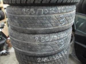 255/70 R16 TOYO OPEN COUNTRY USED TIRE (SET OF 2) - 75% TREAD