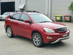 2008 Lexus RX GSU35R MY07 RX350 Sports Luxury Red 5 Speed Sports Automatic Wagon Mayfield East Newcastle Area Preview