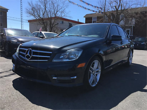 2014 MERCEDES-BENZ C300 4MATIC (TOIT, CUIR, FULL, GARANTIE!!!)