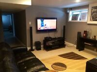 Luxurious Basement In Malton, Mississauga for rent