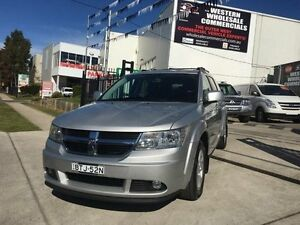2010 Dodge Journey JC MY10 SXT Silver 6 Speed Automatic Wagon St Marys Penrith Area Preview
