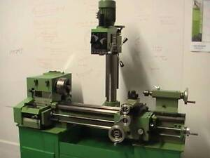 WANTED METAL COMBINATION LATHE MILLING MACHINE  240v Maclean Clarence Valley Preview