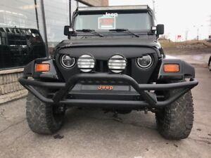 1998 jeep TJ en bonne état rien à faire