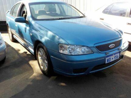 2006 Ford Falcon BF Futura Blue 4 Speed Automatic Sedan Victoria Park Victoria Park Area Preview