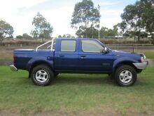 2004 Nissan Navara D22 ST-R (4x4) Blue 5 Speed Manual Dual Cab Pick-up Tighes Hill Newcastle Area Preview