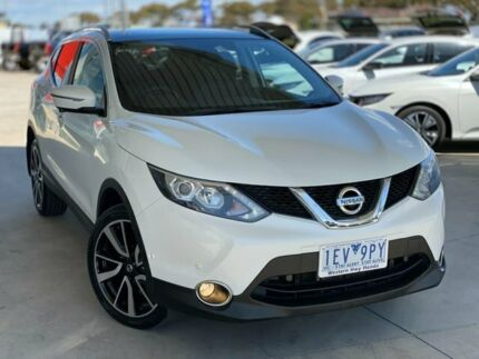 2015 Nissan Qashqai J11 TL White 1 Speed Constant Variable Wagon Ravenhall Melton Area Preview
