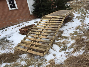 ATV/ Snowmobile Ramp for Pickup Truck