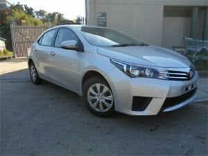 2015 Toyota Corolla ZRE172R Ascent S-CVT Silver 7 Speed Constant Variable Sedan Southport Gold Coast City Preview