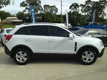2010 Holden Captiva CG MY10 5 White 5 SPEED Manual Wagon Southport Gold Coast City Preview