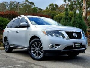 2013 Nissan Pathfinder R52 MY14 ST-L X-tronic 2WD Silver 1 Speed Constant Variable Wagon Littlehampton Mount Barker Area Preview